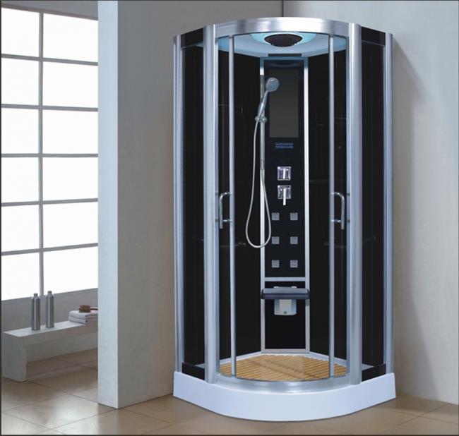 מקלחון עיסוי פינתי מפנק דגם 207 - יבוא 4 יו