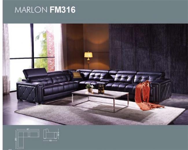 ספה פינתית - דגם FM316 - יבוא 4 יו