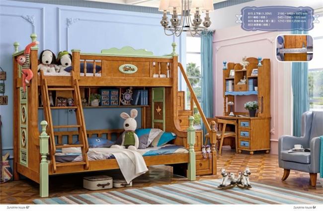 חדר ילדים עם מיטת קומותיים - יבוא 4 יו