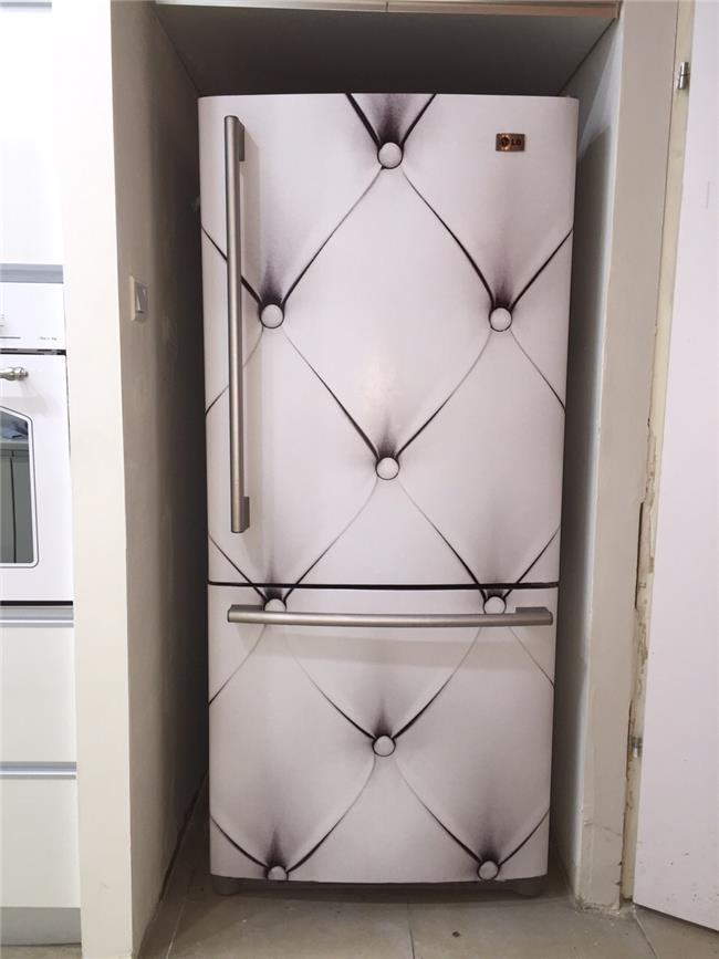 ציפוי למקרר לבן - FUNKYDOOR