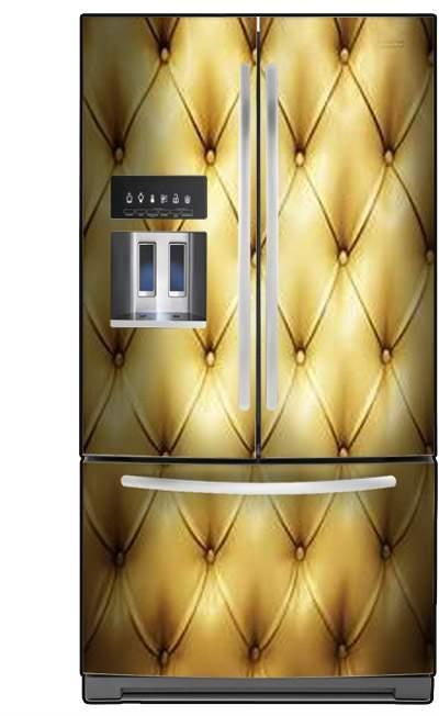 ציפוי למקרר זהב - FUNKYDOOR