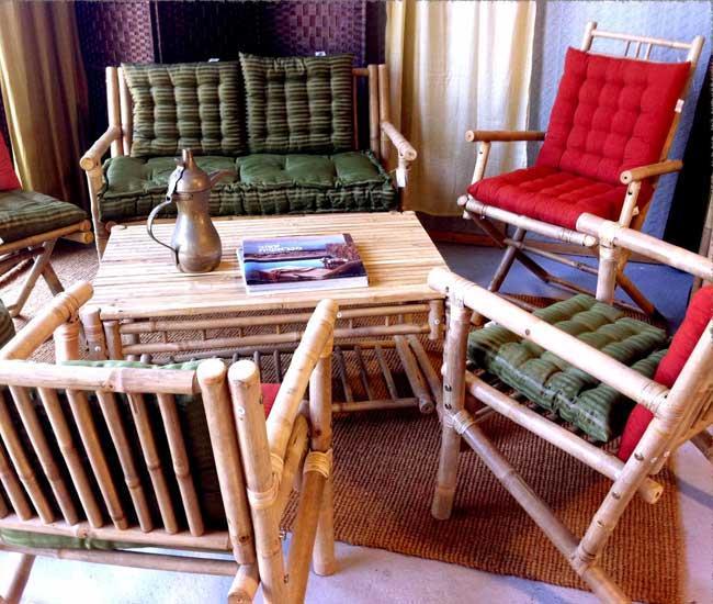 פינת ישיבה עץ במבוק - didi - מוצרי סיני בישראל