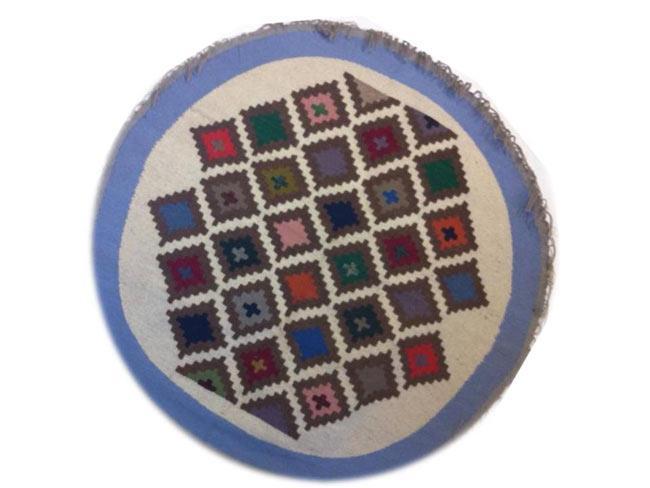 שטיח קילים עגול מעויינים - didi - מוצרי סיני בישראל