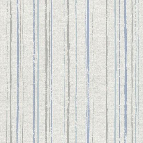 טפט פסים אפור כחול טורקיז - Blinds-US