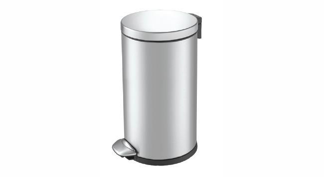פח אשפה עגול למטבח אקו 20 ליטר - א.ישראלי