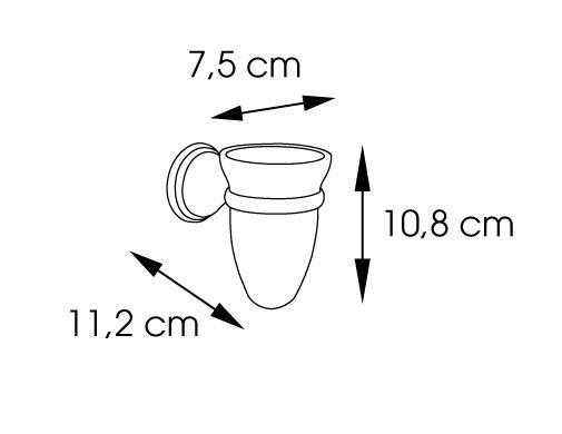 מחזיק כוס תלוי 7510 - א.ישראלי