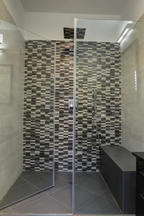 מקלחון חזית קבוע+דלת IG11175 - א.ישראלי