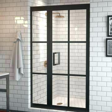 מקלחון 100 קבוע + דלת - א.ישראלי