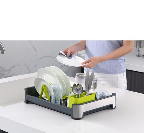מייבש כלים איכותי בצבע אפור - א.ישראלי
