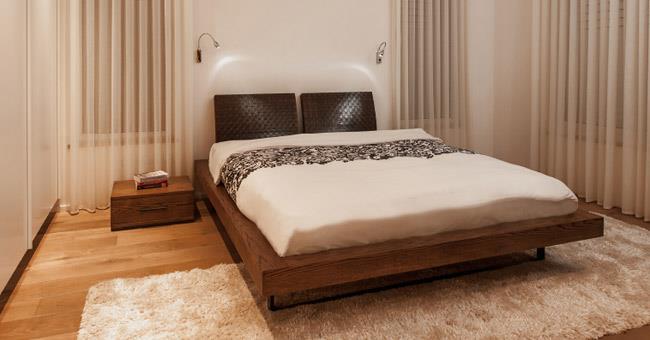 מיטה זוגית מודרנית - סטודיו יפרח בן צבי