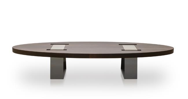 שולחן סלון אובאלי - סטודיו יפרח בן צבי