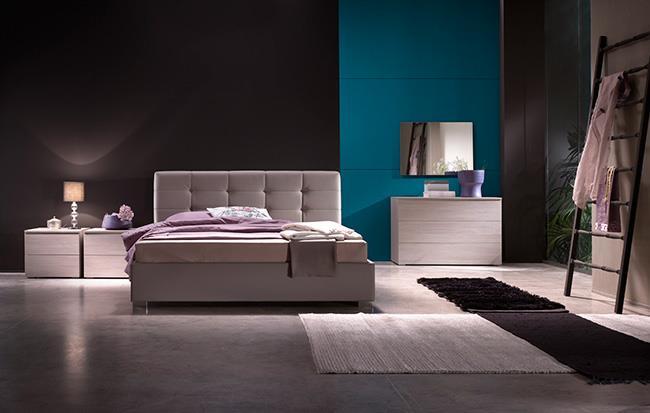 מיטה מרופדת - רוזטו רהיטים - Rossetto