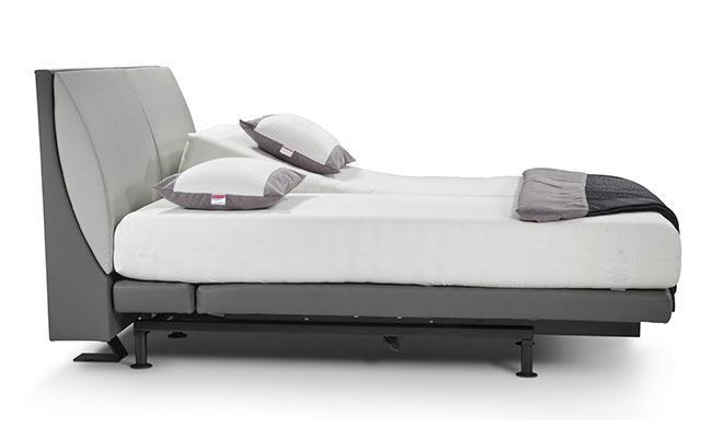 מיטה זוגית אפורה - הולנדיה - Hollandia