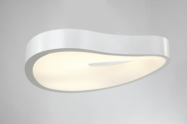מנורה לבנה מעוצבת - דיל תאורה