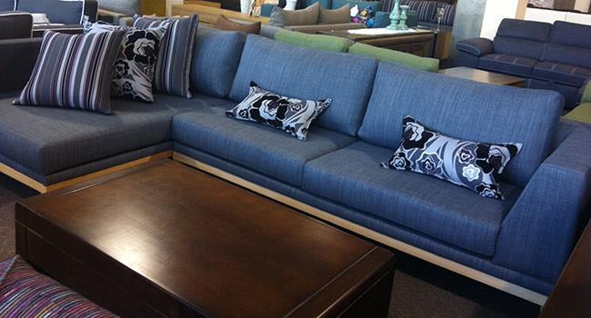 ספה כחולה - רהיטי האולימפוס