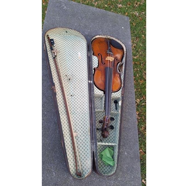 כינור עתיק - fleamarket