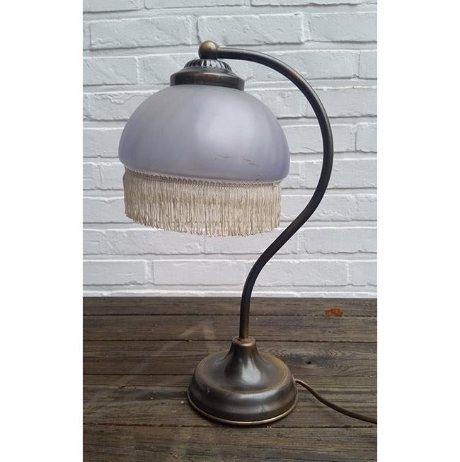 מנורת שולחן וינטאג - fleamarket