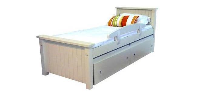 מיטת ילדים עץ מלא - רויאל קומפורט