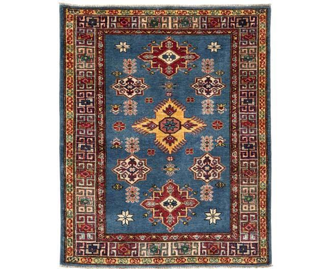 שטיח כחול וחום - שטיחי אלי ששון