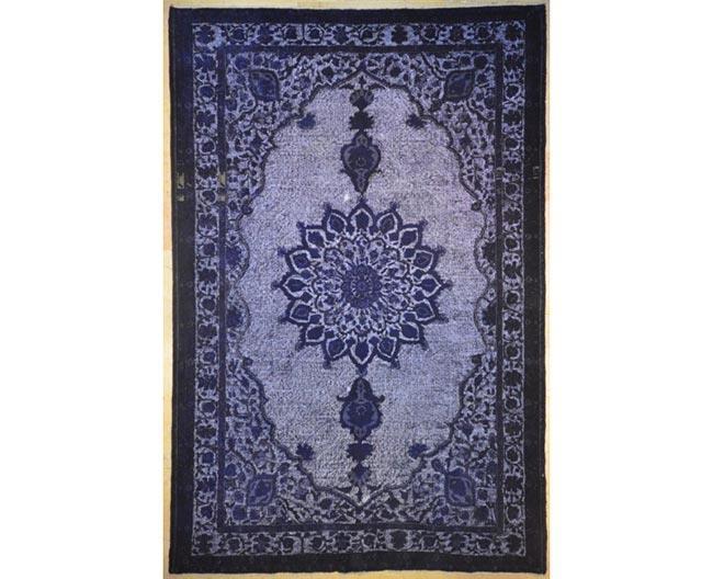 שטיח וינטג' כחול - שטיחי אלי ששון
