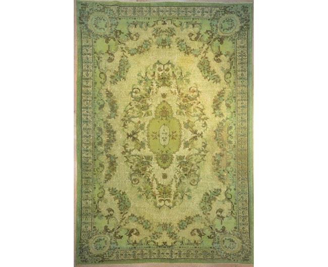 שטיח וינטג' ירקרק - שטיחי אלי ששון