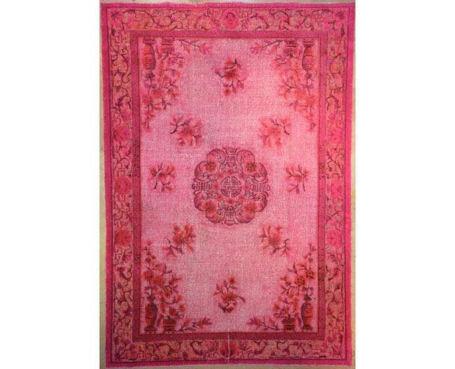שטיח וינטג' ורוד - שטיחי אלי ששון