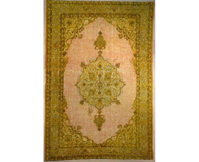 שטיח וינטג' מוזהב - שטיחי אלי ששון