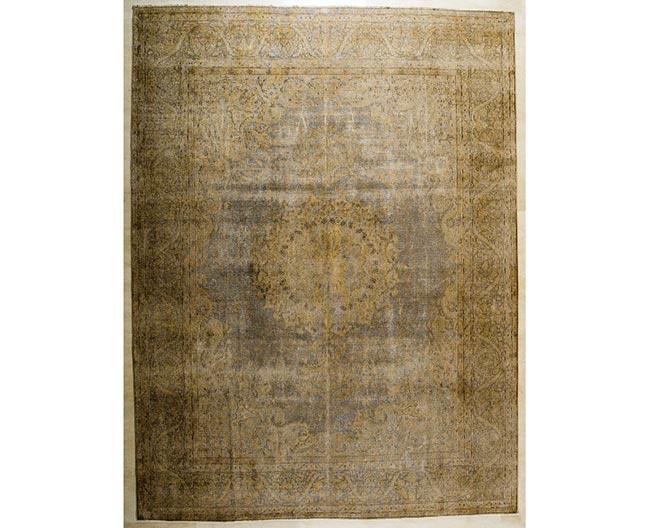 שטיח וינטג' בגוון חום - שטיחי אלי ששון