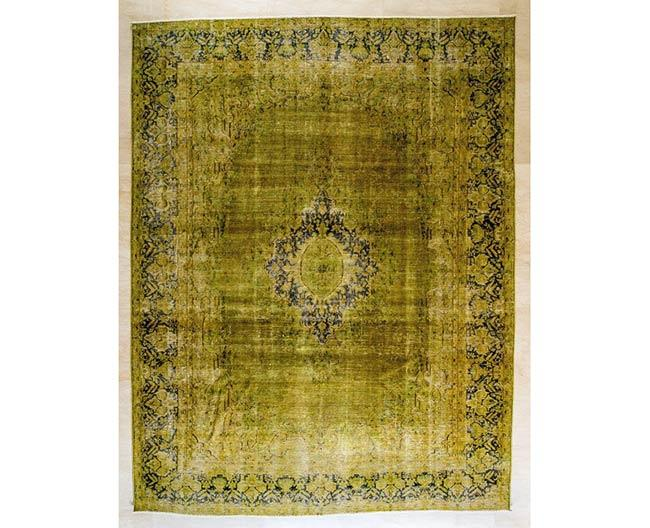 שטיח ירקרק - שטיחי אלי ששון