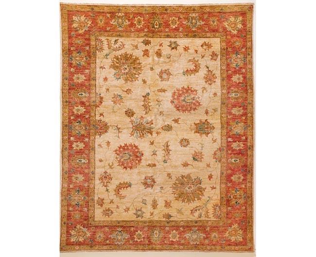 שטיח כתום שמנת - שטיחי אלי ששון