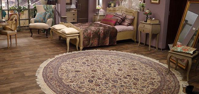 שטיח עגול לסלון - שטיחי אלי ששון