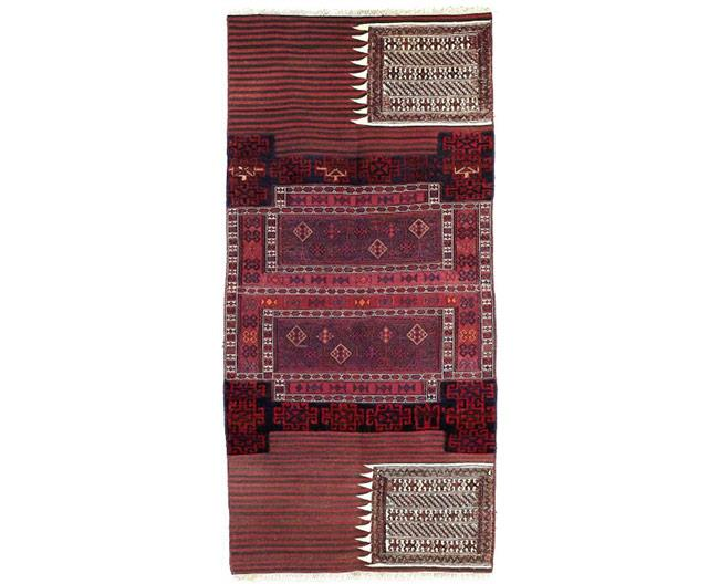 שטיח צמר בורדו - שטיחי אלי ששון