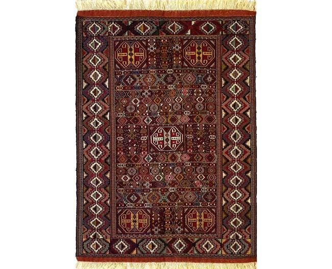 שטיח חום אותנטי - שטיחי אלי ששון