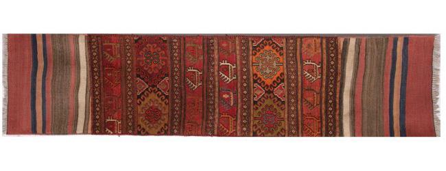 שטיח מאורך צבעוני - שטיחי אלי ששון
