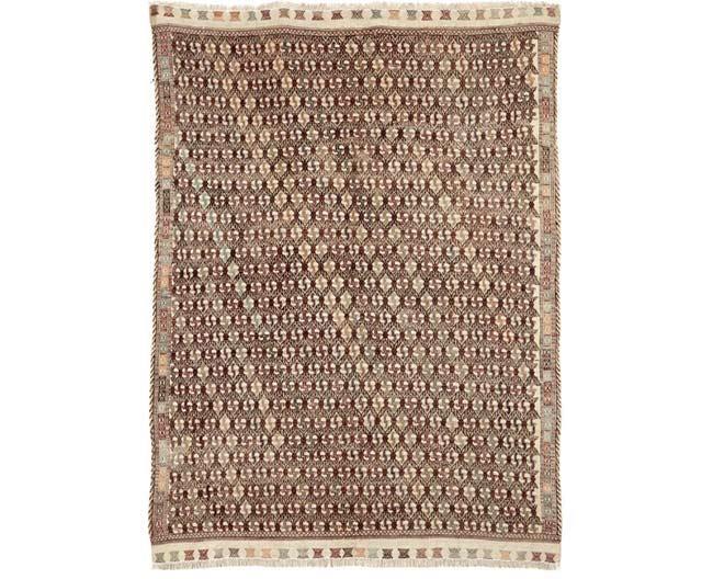 שטיח סומק חום - שטיחי אלי ששון