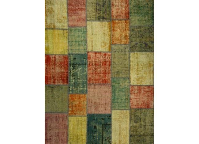 שטיח טלאים פצ'וורק - שטיחי אלי ששון