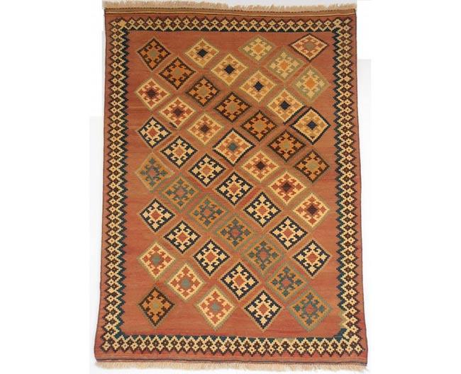 שטיח כתום - שטיחי אלי ששון