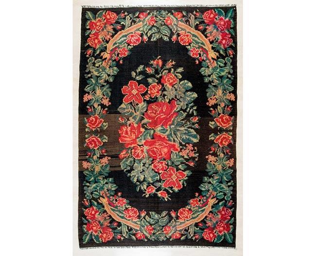 שטיחים פרחוניים - שטיחי אלי ששון