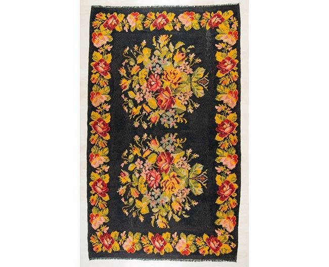 שטיח פרחוני - שטיחי אלי ששון