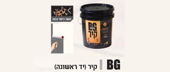 צבע סיד לקיר - BG Paint