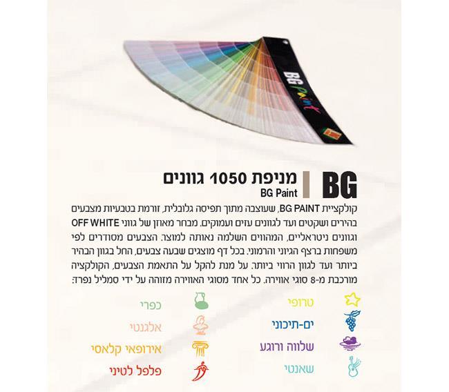 צבע נגד עובש - BG Paint