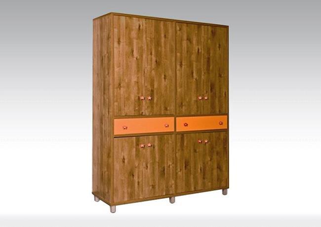 ארון בגדים 4 דלתות - רגב רהיטים