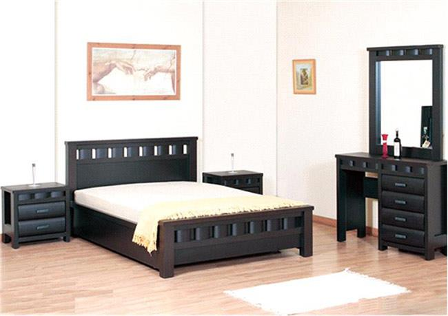 חדר שינה עץ מלא - רגב רהיטים