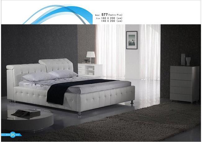 חדרי שינה מעוצבים בלבן - רגב רהיטים