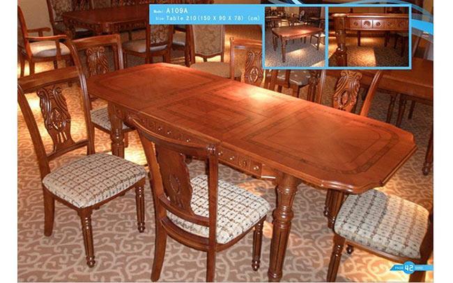 שולחן אוכל ייחודי - רגב רהיטים