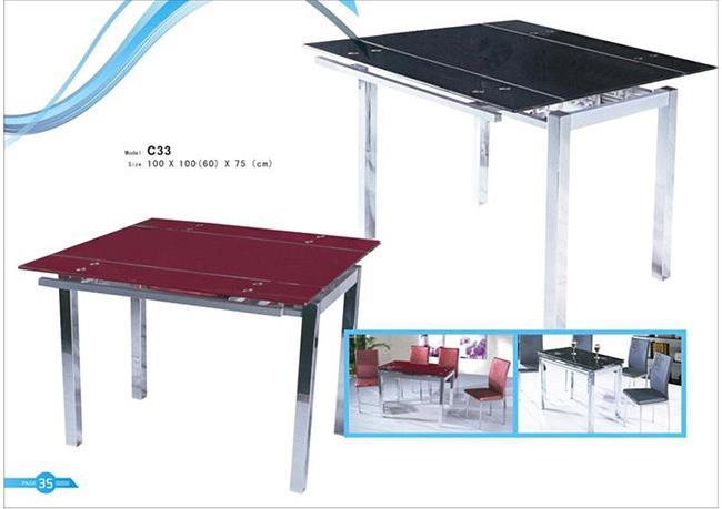 שולחן אוכל מרובע - רגב רהיטים