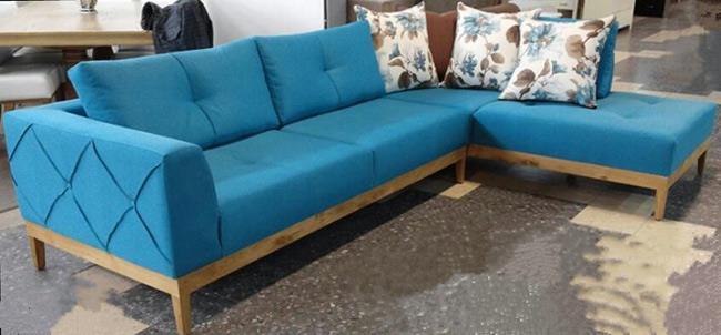 סלון פינתי טורקיז - רגב רהיטים