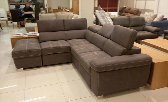 ספה פינתית מתכווננת - רגב רהיטים