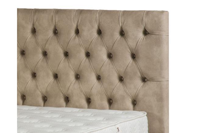 מיטה מעוצבת קפיטונז' - King David - מזרונים אורטופדיים