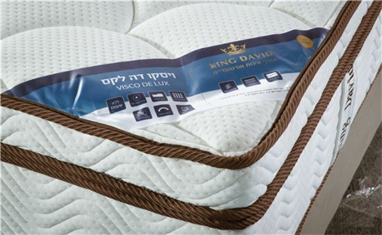 מזרן ויסקו זוגי - King David - מזרונים אורטופדיים